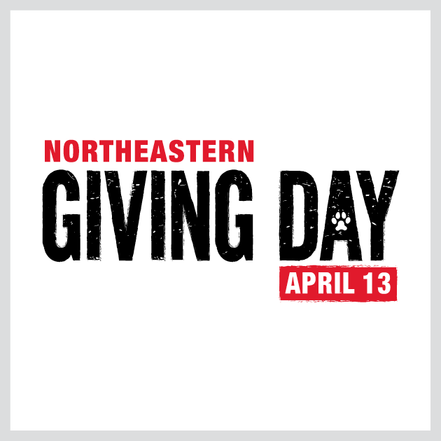 Northeastern Giving Day Logo
