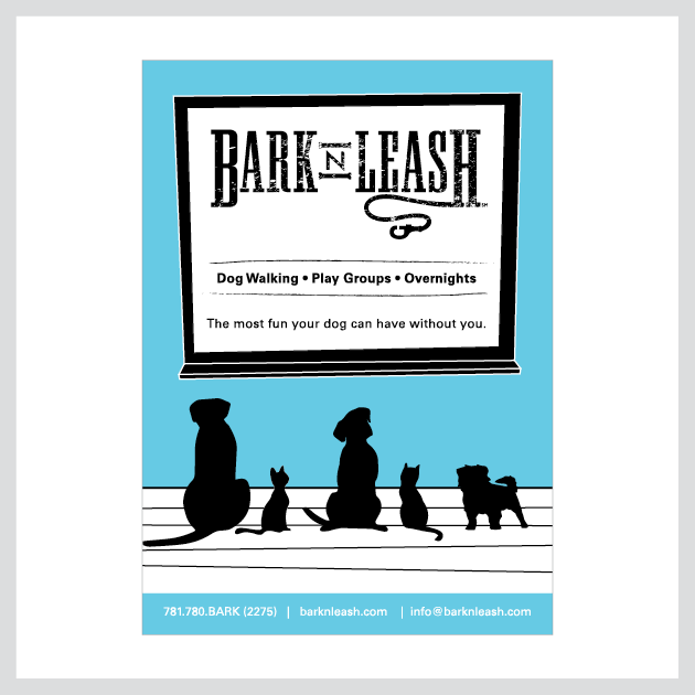 Bark 'N Leash Mailer